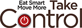 Eat Smart Move More Take Control Logo