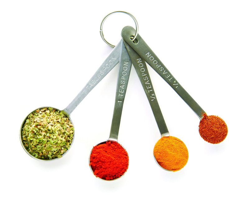 Spices and Measuring Spoons!